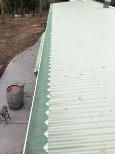 Aluminium Gutter Guard - Complete DIY Package to suit Metal Roof