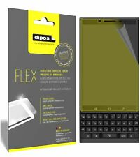 3x Blackberry Key 2 Screen Protector Protective Film covers 100% dipos Flex