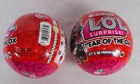 Lot 2 LOL Surprise Year of the Ox Limited Edition Balls New