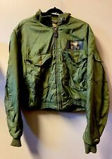 Vintage 60s Vietnam War USAAF USN NAVY WEP Flying Flight Winter Suit Jacket 42L