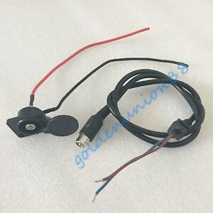 Charging wire RCA Lotus connector for12V 36V 48V 24V electric bike ebike battery