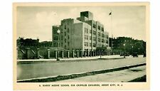 Jersey City NJ - HARRY MOORE SCHOOL FOR CRIPPLED CHILDREN - Postcard