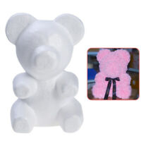 Cute Foam Bear Mould White Styrofoam Balls for Wedding Gift DIY Valentine's Day