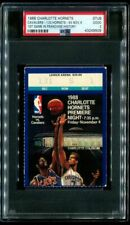 PSA Ticket Basketball 1988 Charlotte Hornets 11/4 1st GM in Franchise History