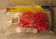 LEGO System Service Pack 5140 Red Bricks New In Package
