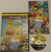 The Simpsons: Hit & Run (GameCube, 2003) - Complete, Tested (player's Choice)