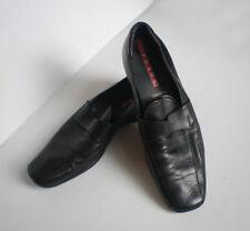 Prada Leder Loafers Halbschuhe Mokassin Slipper Schuhe Freizeitschuhe, Gr. 38,5
