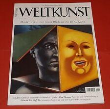 WELTKUNST Ausgabe Dezember 2017 - Maskenspiele - ungelesen