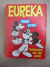 EUREKA n°12 1978 ed. Corno  Speciale Topolino ha 50 anni  [G870]