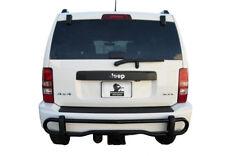 APU 2008-2013 Jeep Liberty Black Rear Bumper Guard Protector double tube