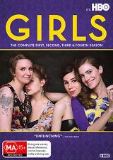 GIRLS Complete Series Seasons 1,  2, 3 & 4 DVD Box Set R4 New & Sealed