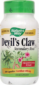 Nature's Way Devil's Claw Secondary Root  - 100 capsules