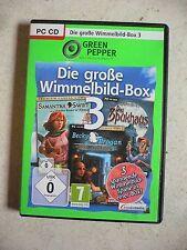 Die große Wimmelbild-Box 3 (PC, 2010, DVD-Box) - 3 Wimmelbild Spiele Kultspiele