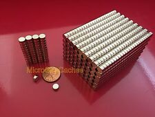 50 6x3mm Approx14 X 18 Strong Rare Earth Neodymium Disc Magnets Neo