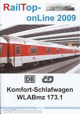 RailTop online 2009  HO DB German Railways Komfort Schlafwagen sleeping car WLAB