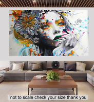 art Urban Princess White modern canvas artwork print painting