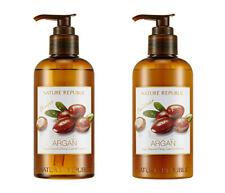 [NATURE REPUBLIC] 2019 NEW Argan Essential Deep Care Shampoo & Conditioner 300ml