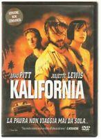 KALIFORNIA DVD Film ITA PAL Versione Noleggio