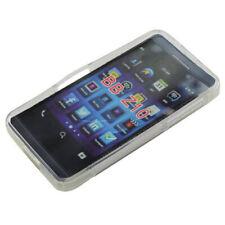 TPU Rubber Case Wave Schutzhülle für BlackBerry Z10 in transparent Etui Hülle