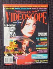 2002 VIDEOSCOPE Horror Movie Magazine #43 VF American Psycho Cover