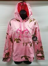 WOMENS REALTREE HOODED SWEATSHIRT PINK CAMOUFLAGE XL(16-18)  NWT * FREE SHIPPING