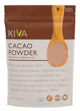 Kiva Raw Organic Cacao Powder - Made from the BEST PREMIUM Criollo Cacao beans