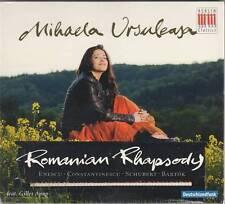Mihaela Ursuleasa - Romanian Rhapsody (CD 2011) NEU/Sealed! Enescu, Barok ...