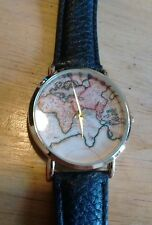 Vintage Geneva Map 513289 ladies watch, running with new battery NR A