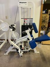 Biangular Lat Row Upper body workout weight machine in good working order