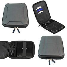 Hardcase Tasche Case Hülle Schwarz für Extern DVD CD Blu-Ray DVD-Brenner