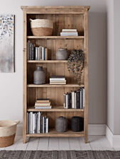 NEW Cox & Cox Provence Reclaimed Wood Tall Rustic Country French Bookcase 195cm
