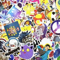 900 pcs Skateboard Stickers Graffiti Laptop Sticker Luggage Car Decals Mix Lot