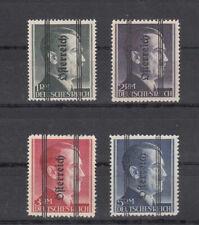 Österreich, Nr. 693 I - 696 I, postfrisch, geprüft und Befund Sturzeis VÖB