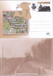 2772 - Estonia - 2003 - Valga-Moniste-Gulbene-Plavinas narrow-gauge PostCard FDC