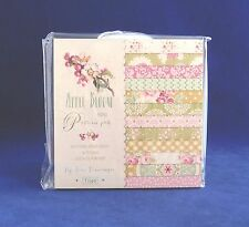 Tilda Apple Bloom Mini Patterned Paper Pad 24 Double Sided Sheets Acid Free