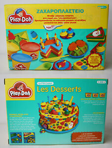 RARE VINTAGE 1995 PLAY DOH CAKES LES DESSERTS PLAYSET KENNER TONKA NEW SEALED!