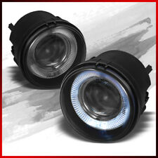 Fits 06-10 Charger/07-12 Caliber/Nitro Smoke Halo Projector Fog Lights w/Switch