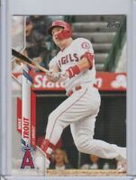 2020 TOPPS SERIES 1 MIKE TROUT #1 LOS ANGELES ANGELS