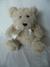 NEXT cream teddy bear  8 inches tall