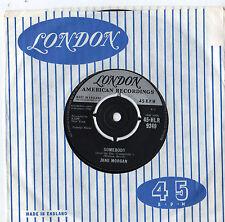 "Jane MORGAN-QUALCUNO 7"" SINGLE 1960"