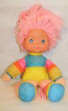 """Rainbow Brite Doll Tickled Pink Vtg 1983 Hallmark 16"""" Yellow Orange Blue"""