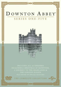 Downton Abbey: Series 1-5 (DVD, 2014, Boxed Disc Set) - used