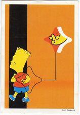figurina THE SIMPSONS PANINI ANNO 1999 NUMERO 7 NEW