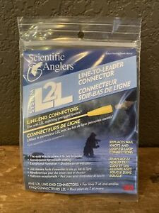 New Scientific Angler L2L System Connector Line-to-Leader Connection