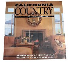 California Country Interior Design Architecture and Style Book