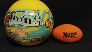 Worlds Smallest Nerfball Blind Mystery Capsule Toy Super Impulse 2020