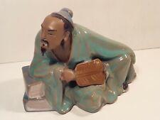 Antique Chinese Celadon Mudmen Figure