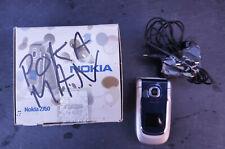 Nokia 2760 - Black & Silver (O2 Network ) Mobile Phone Flip Fold
