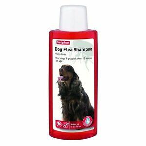 BEAPHAR Dog Flea Shampoo (Red - pyrethrum)