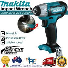 12V Makita Cordless Impact Wrench 3/8 Driver Air Square Drive Compact Brushless